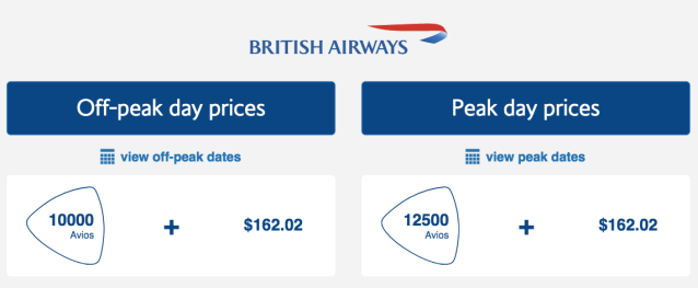 BAEC TLV-LHR Award Price