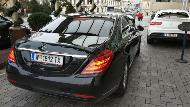 Blacklane VIE to Vienna 1