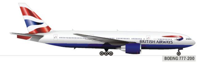 British Boeing 777-200