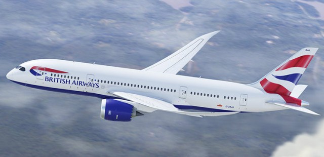 British Boeing 787-800 Small