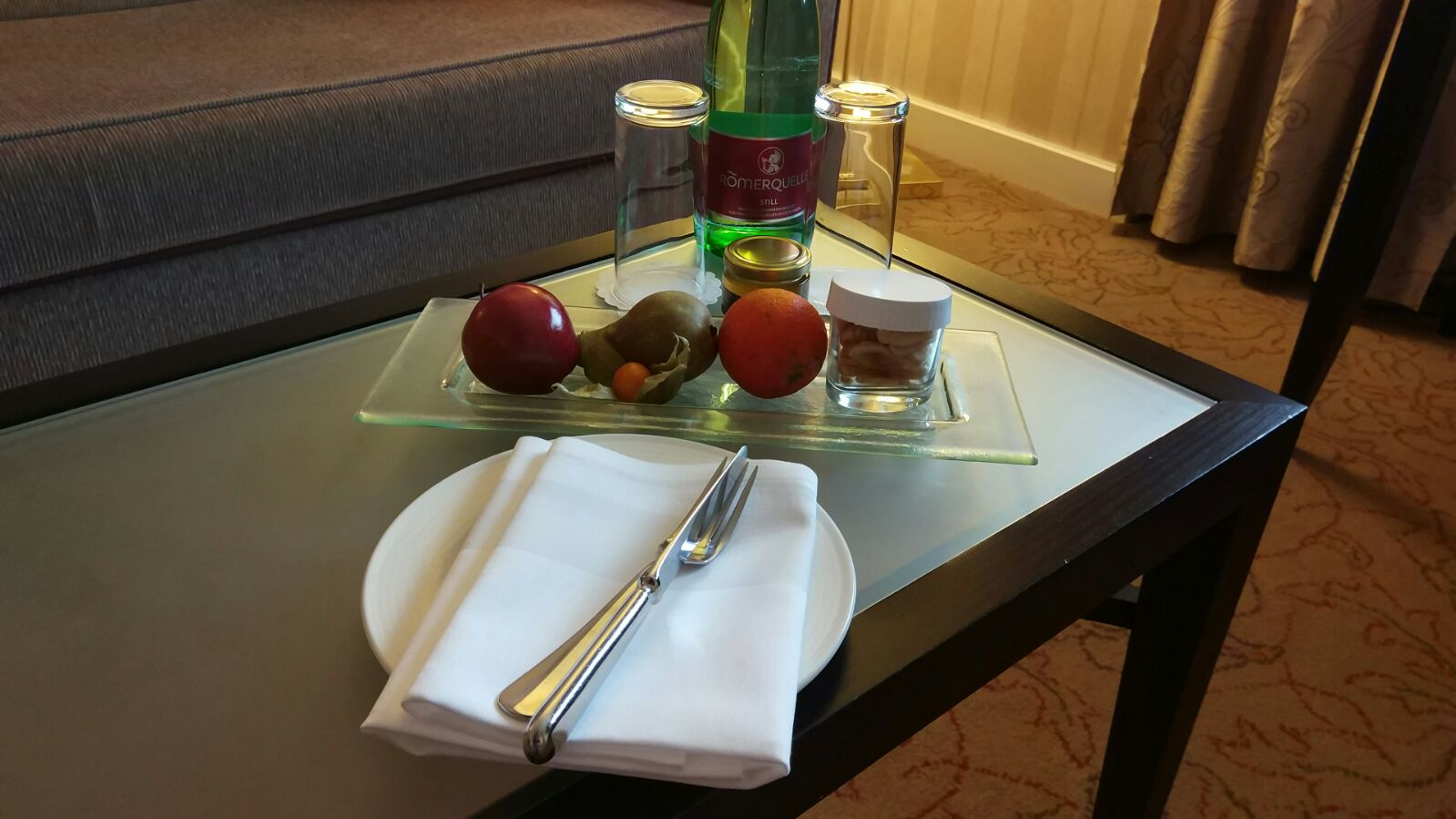 InterContinental Vienna Welcome Amenity
