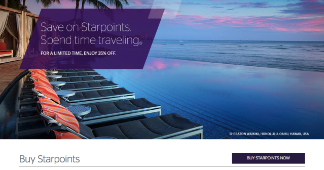 SPG Buy Points - End of 2017