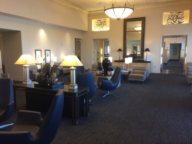United First Class Lounge SFO