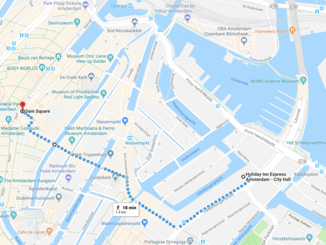 HIX Amsterdam Location