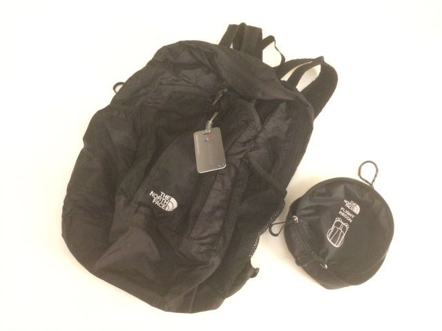 TNF Folding Bag 2