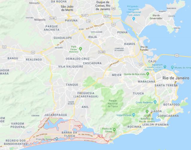 Rio Map BdT