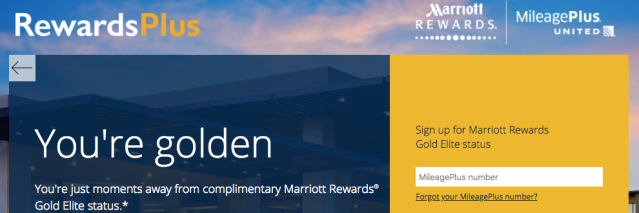 United Gold to Marriott Gold