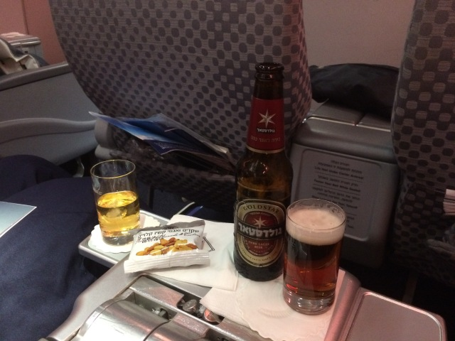 Beer on an LY Flight