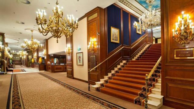 Intercontinental Vienna Lobby 1