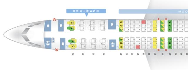 LY 739 Seatmap