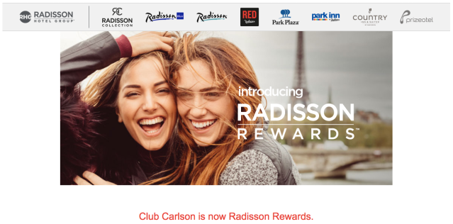 Radisson Rewards Welcome 2