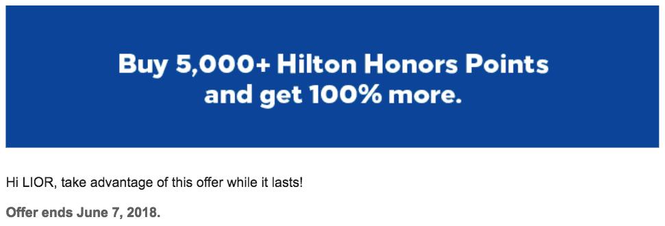 HH Buy Points April 2018