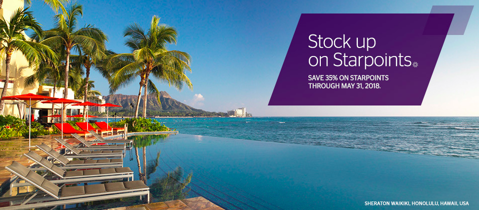 SPG Buy Points April 2018