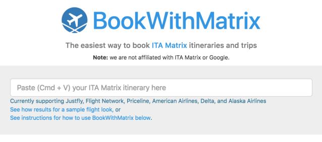 BookWithMatrix