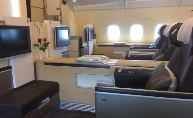 Lufthans First Class Cabin 2.1