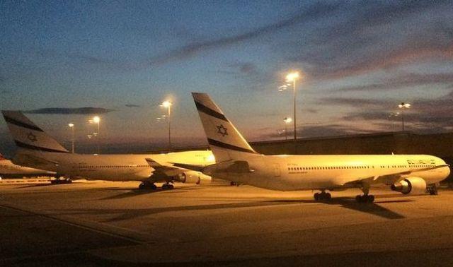 ElAl Planes at BKK Airport 2