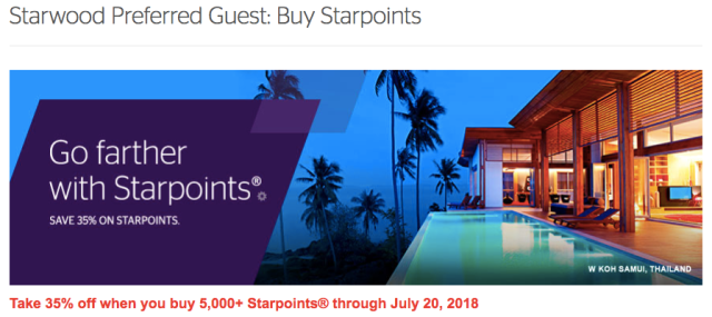 SPG Last Buy Points Promo