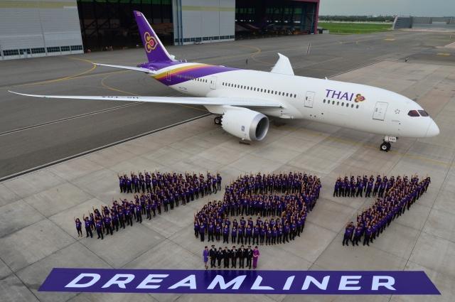 THAI First 787 Dreamliner