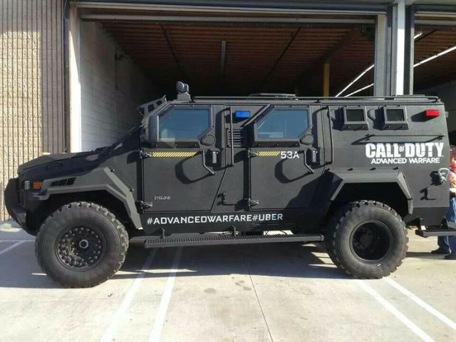 Uber Armored Car