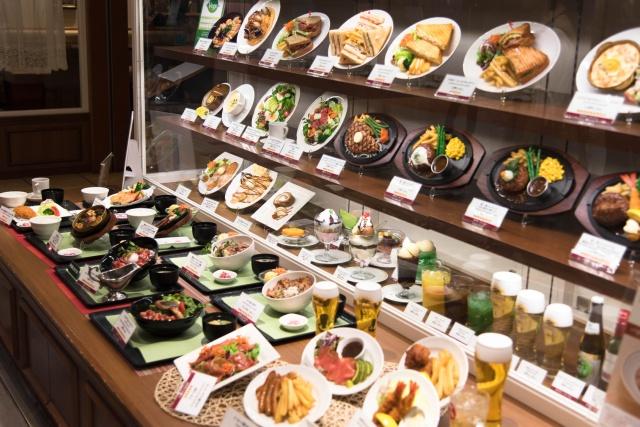 Food Display in Japan