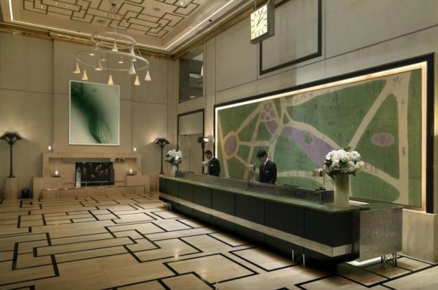 London NYC Lobby
