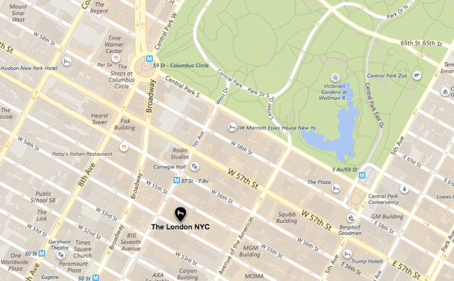 London NYC Location