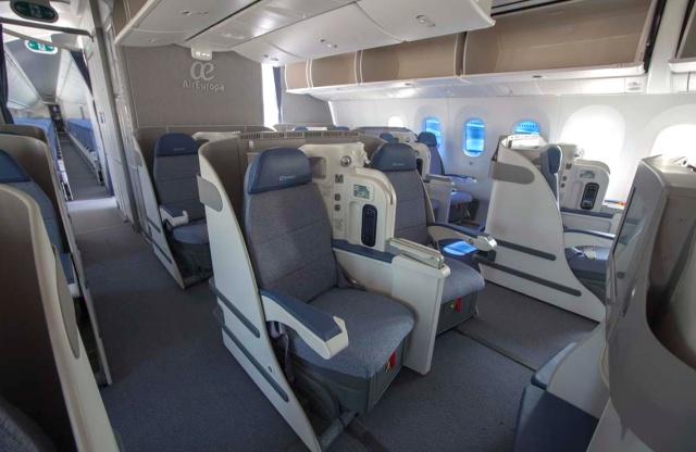 Air Europa 787-8 Business Class