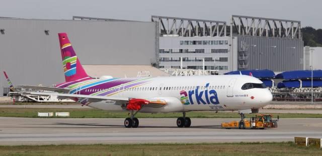 Arkia A321LR by XFW Spotter