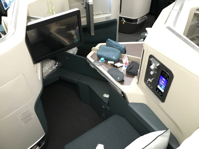 Cathay Pacific A350 Business Class 2