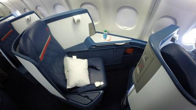 Delta Business Class Seat