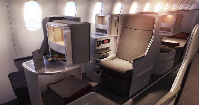 Iberia International Business Class Seat