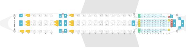 SQ A359ULR Seatmap