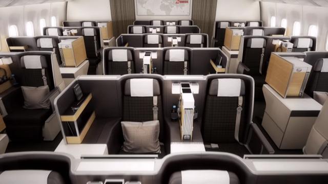 Swiss 777 Business Class